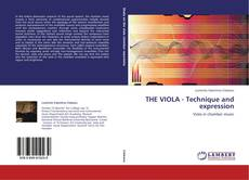 Bookcover of THE VIOLA - Technique and expression