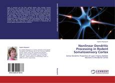 Bookcover of Nonlinear Dendritic Processing in Rodent Somatosensory Cortex