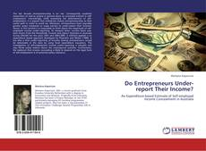 Couverture de Do Entrepreneurs Under-report Their Income?