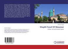 Shaykh Yusuf Of Macassar的封面