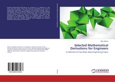 Bookcover of Selected Mathematical Derivations for Engineers