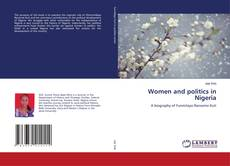 Buchcover von Women and politics in Nigeria