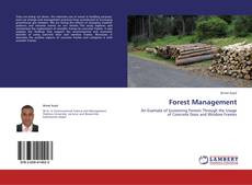 Обложка Forest Management