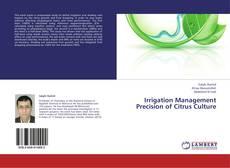 Bookcover of Irrigation Management Precision of Citrus Culture