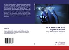 Capa do livro de Lean Manufacturing Implementation