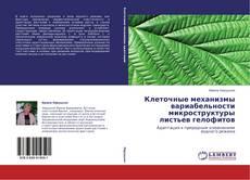 Обложка Клеточные механизмы вариабельности микроструктуры листьев гелофитов