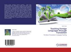 Copertina di Teaching Foreign Languages through Translation