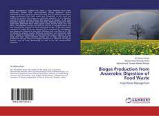 Copertina di Biogas Production from Anaerobic Digestion of Food Waste
