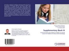 Buchcover von Supplementary Book III