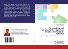 Bookcover of Care seeking and management of common childhood illnesses in Tanzania