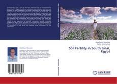 Couverture de Soil Fertility in South Sinai, Egypt