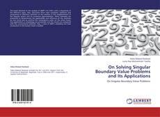 Capa do livro de On Solving Singular Boundary Value Problems and Its Applications