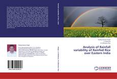 Bookcover of Analysis of Rainfall variability of Rainfed Rice over Eastern India