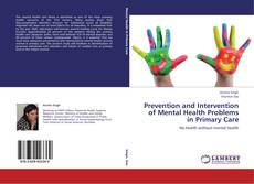 Capa do livro de Prevention and Intervention of Mental Health Problems in Primary Care