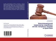 Portada del libro de Апелляционный пересмотр судебных актов: вопросы теории и практики