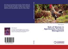 Role of Women in Agroforestry Practices Management kitap kapağı