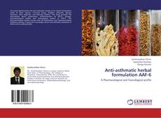 Anti-asthmatic herbal formulation AAF-6 kitap kapağı