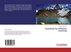 Couverture de Essentials For Effective Learning