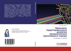 Обложка Принципы территориального развития метрополитена крупнейшего города