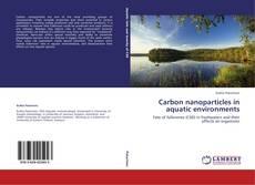 Borítókép a  Carbon nanoparticles in aquatic environments - hoz