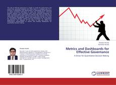 Buchcover von Metrics and Dashboards for Effective Governance