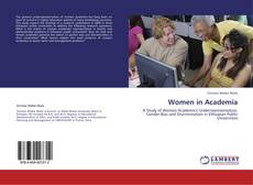 Bookcover of Women in Academia
