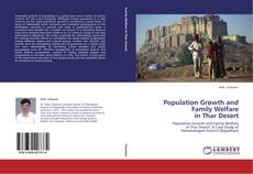 Buchcover von Population Growth and Family Welfare in Thar Desert