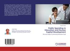 Bookcover of Public Spending in Education and Human Capital Development