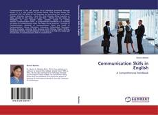 Portada del libro de Communication Skills in English
