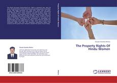 Bookcover of The Property Rights Of Hindu Women