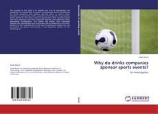 Why do drinks companies sponsor sports events? kitap kapağı