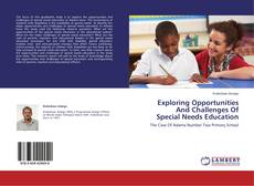 Copertina di Exploring Opportunities And Challenges Of Special Needs Education