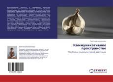 Bookcover of Коммуникативное пространство