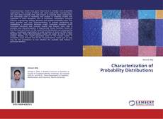 Characterization of Probability Distributions kitap kapağı