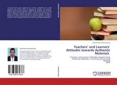 Buchcover von Teachers' and Learners' Attitudes towards Authentic Materials