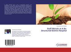 Bookcover of Staff Morale at A Re-Structured District Hospital