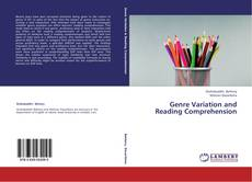 Genre Variation and Reading Comprehension kitap kapağı