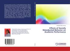Обложка Effects of Socially Maladjusted Behavior on Academic Performance