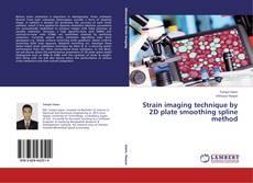 Strain imaging technique by 2D plate smoothing spline method的封面