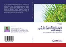 Bookcover of A Study on District–wise Agricultural Development in West Bengal