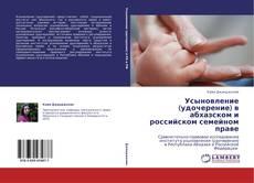 Copertina di Усыновление (удочерение) в абхазском и российском семейном праве