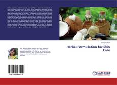 Capa do livro de Herbal Formulation for Skin Care