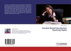 Buchcover von Context Based Vocabulary Teaching Styles