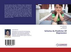 Обложка Schema As Predictor Of Depression
