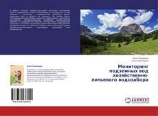Bookcover of Мониторинг подземных вод хозяйственно-питьевого водозабора