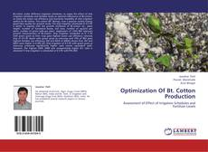 Bookcover of Optimization Of Bt. Cotton Production