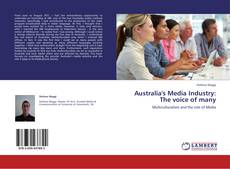Bookcover of Australia's Media Industry: The voice of many