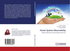 Bookcover of Power System Observability