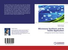 Portada del libro de Microwave Synthesis and Its Textile Application