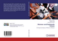 Обложка Women and Rationale Values